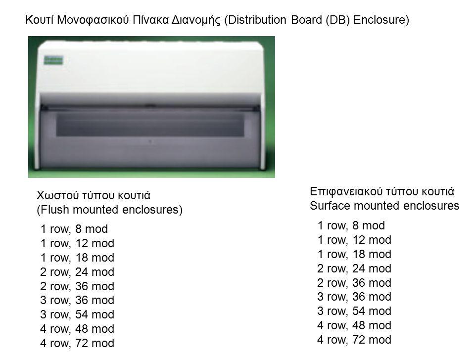 Κουτί Μονοφασικού Πίνακα Διανομής (Distribution Board (DB) Enclosure)