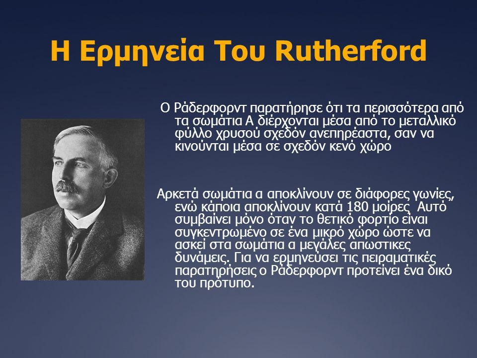 Η Ερμηνεία Του Rutherford