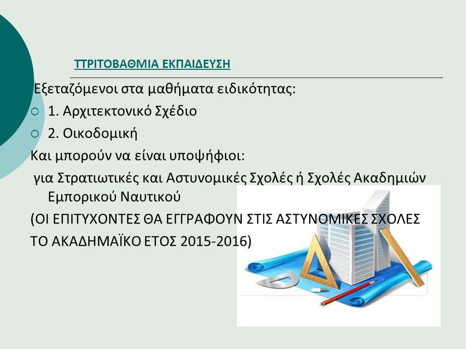ΤΤΡΙΤΟΒΑΘΜΙΑ ΕΚΠΑΙΔΕΥΣΗ