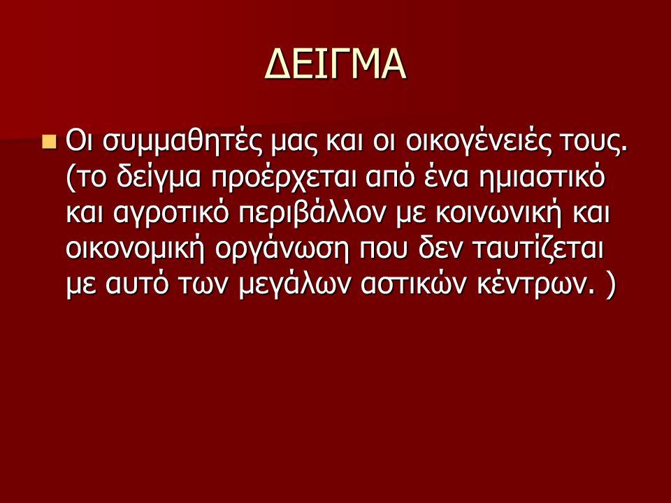 ΔΕΙΓΜΑ