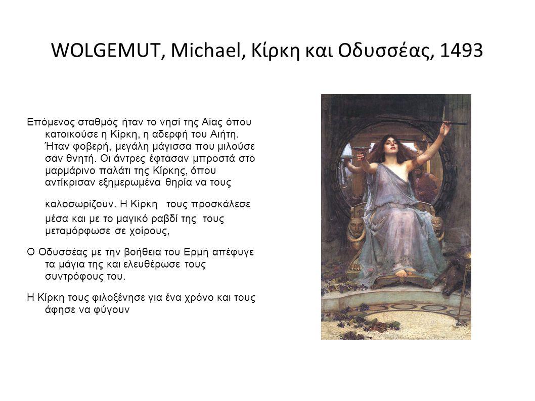 WOLGEMUT, Michael, Κίρκη και Οδυσσέας, 1493
