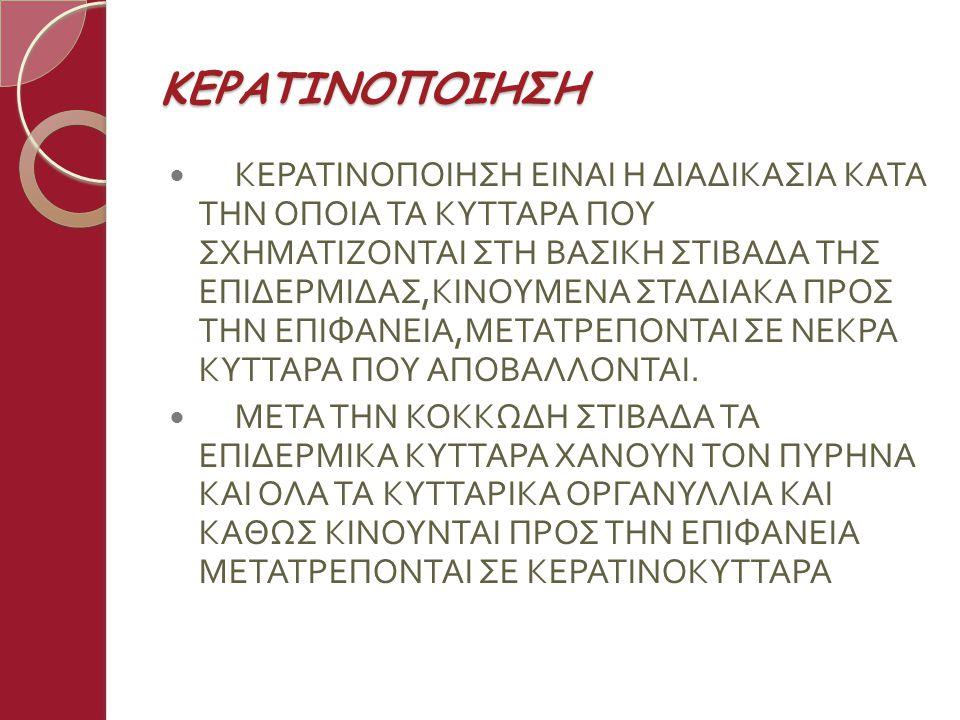 ΚΕΡΑΤΙΝΟΠΟΙΗΣΗ