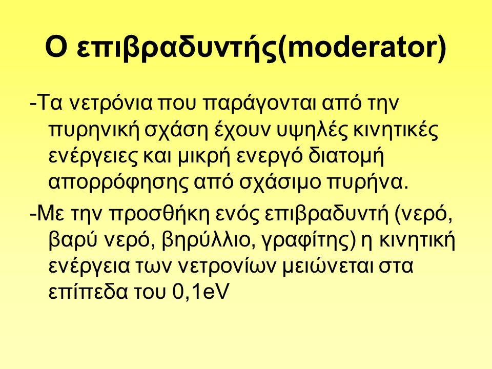 Ο επιβραδυντής(moderator)