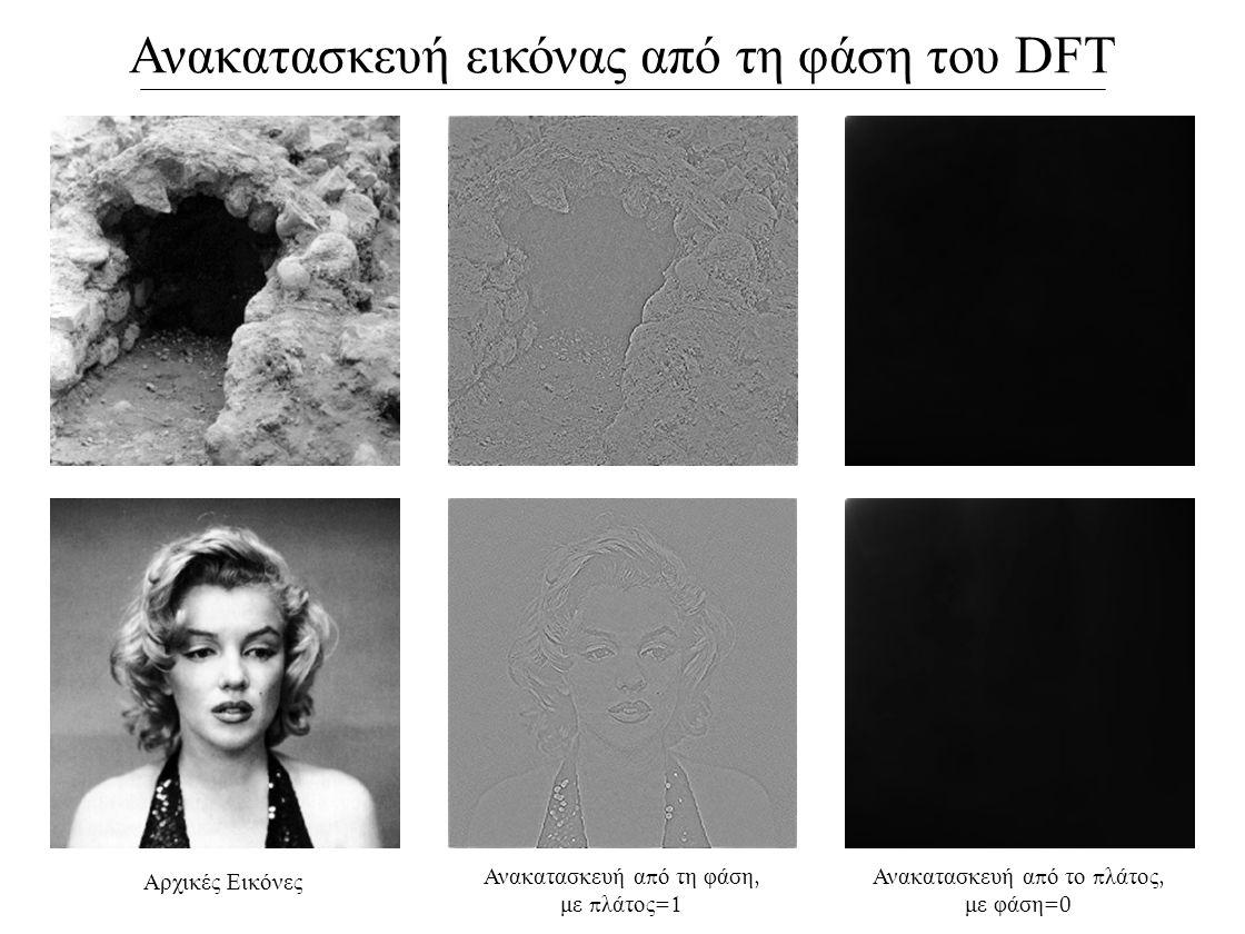 Ανακατασκευή εικόνας από τη φάση του DFT