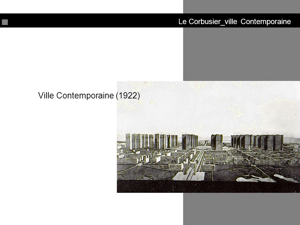 Ville Contemporaine (1922)