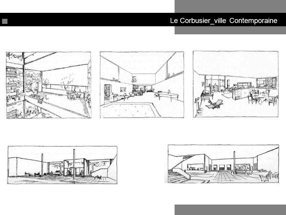 Le Corbusier_ville Contemporaine