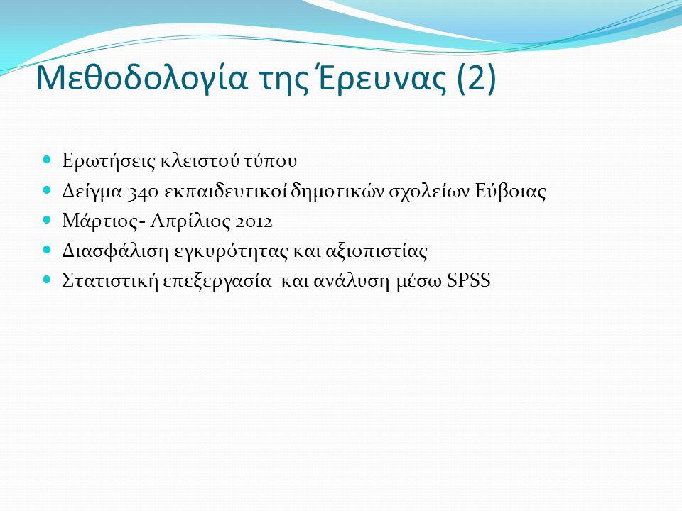 Μεθοδολογία της Έρευνας (2)