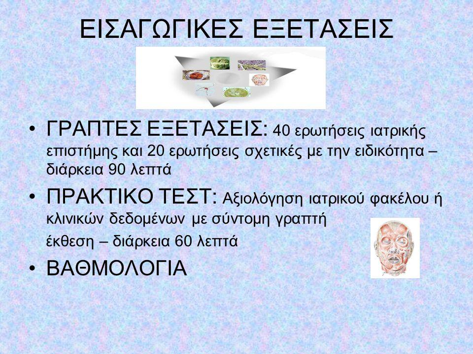 ΕΙΣΑΓΩΓΙΚΕΣ ΕΞΕΤΑΣΕΙΣ