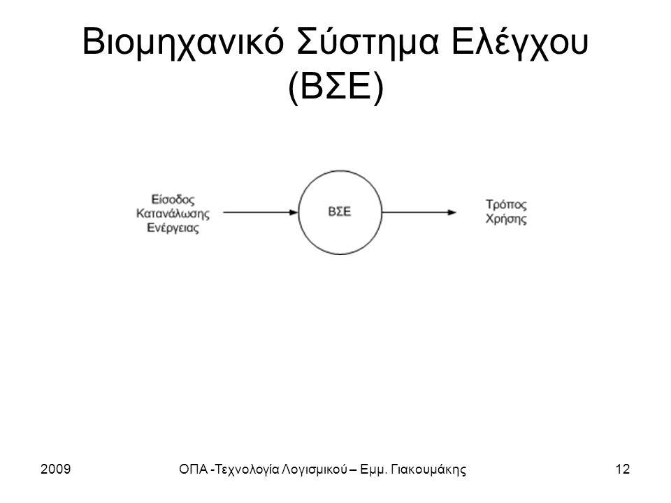 Βιομηχανικό Σύστημα Ελέγχου (ΒΣΕ)