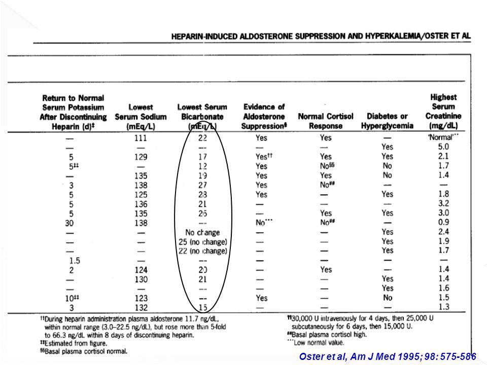 Oster et al, Am J Med 1995; 98: 575-586