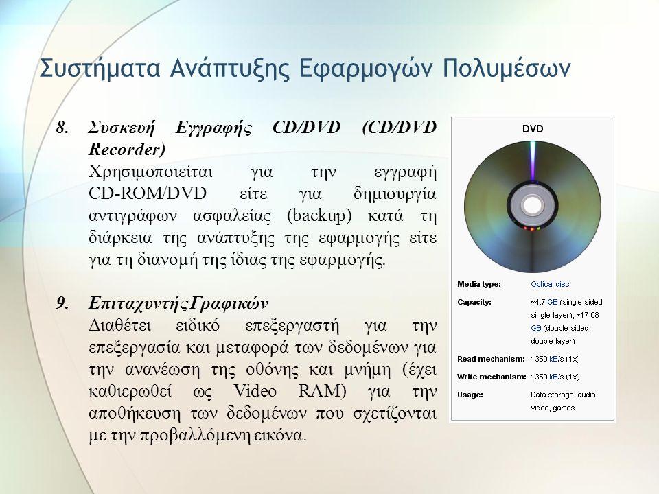 Συστήματα Ανάπτυξης Εφαρμογών Πολυμέσων