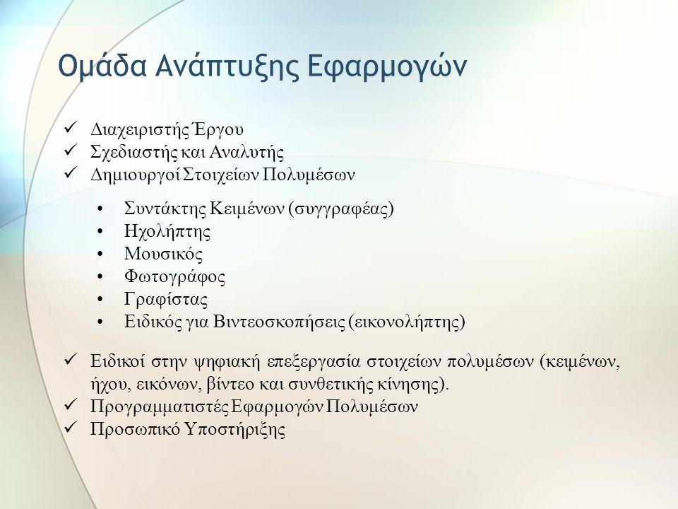 Ομάδα Ανάπτυξης Εφαρμογών