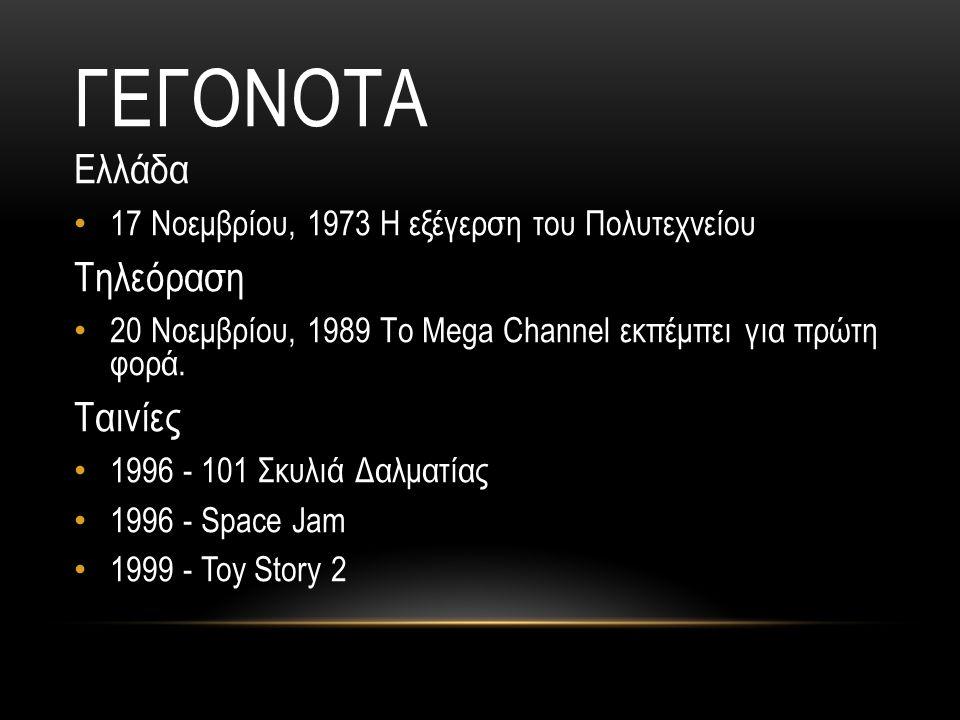 Γεγονοτα Ελλάδα Τηλεόραση Ταινίες