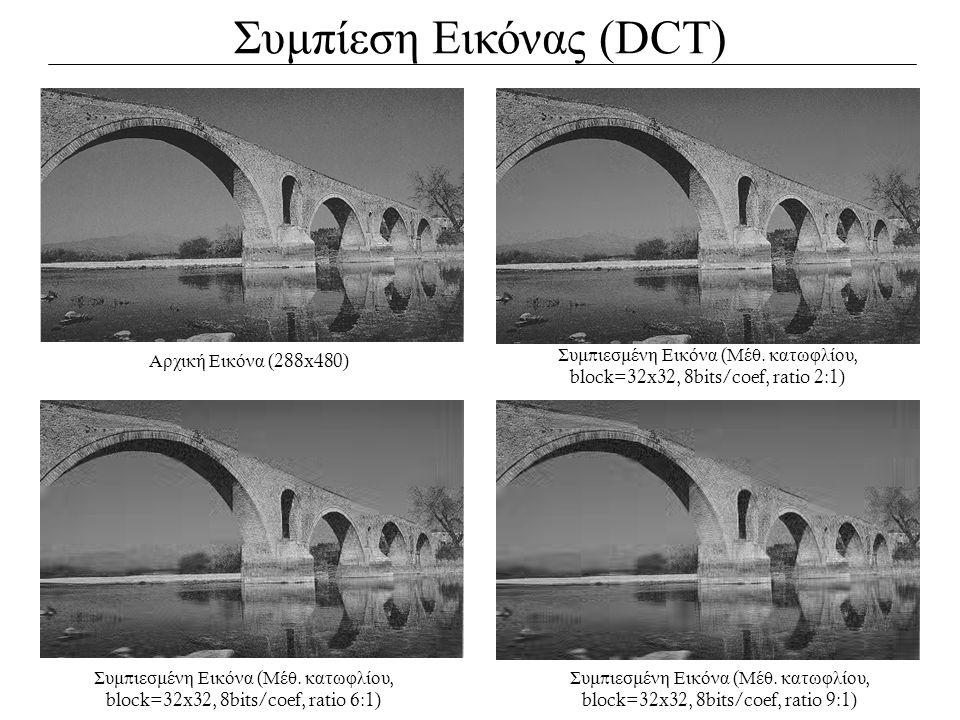 Συμπίεση Εικόνας (DCT)