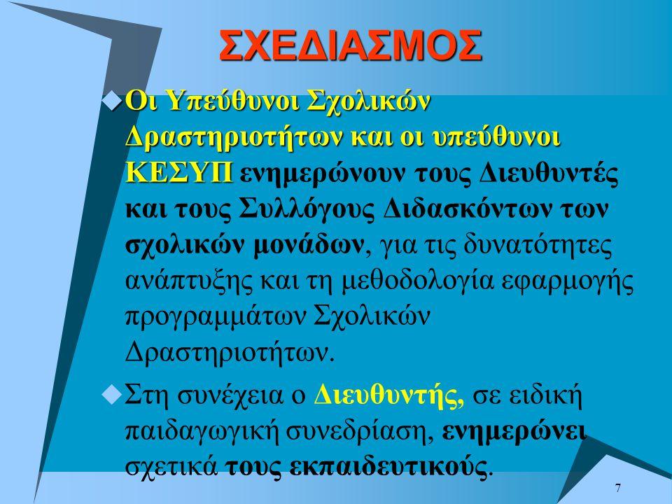 ΣΧΕΔΙΑΣΜΟΣ