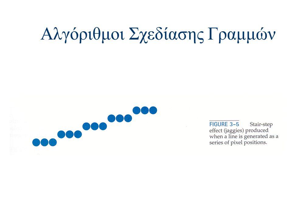 Αλγόριθμοι Σχεδίασης Γραμμών