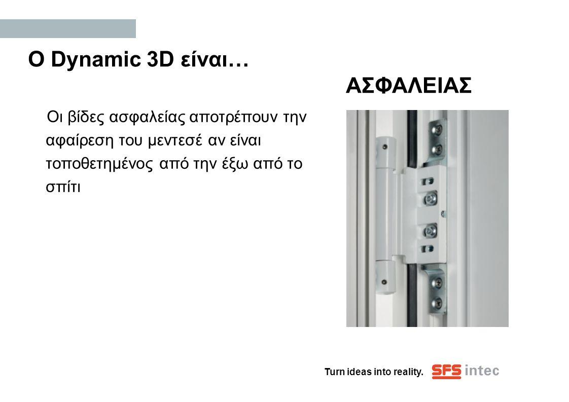 Ο Dynamic 3D είναι… ΑΣΦΑΛΕΙΑΣ
