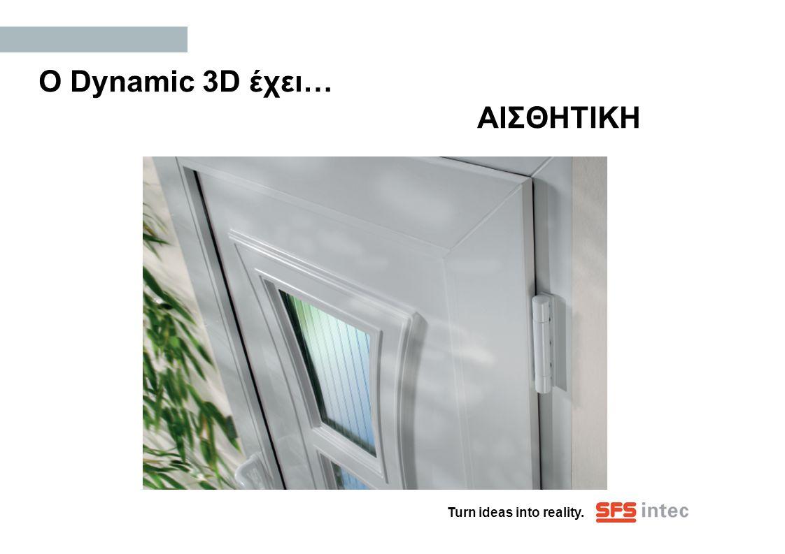 Ο Dynamic 3D έχει… ΑΙΣΘΗΤΙΚΗ