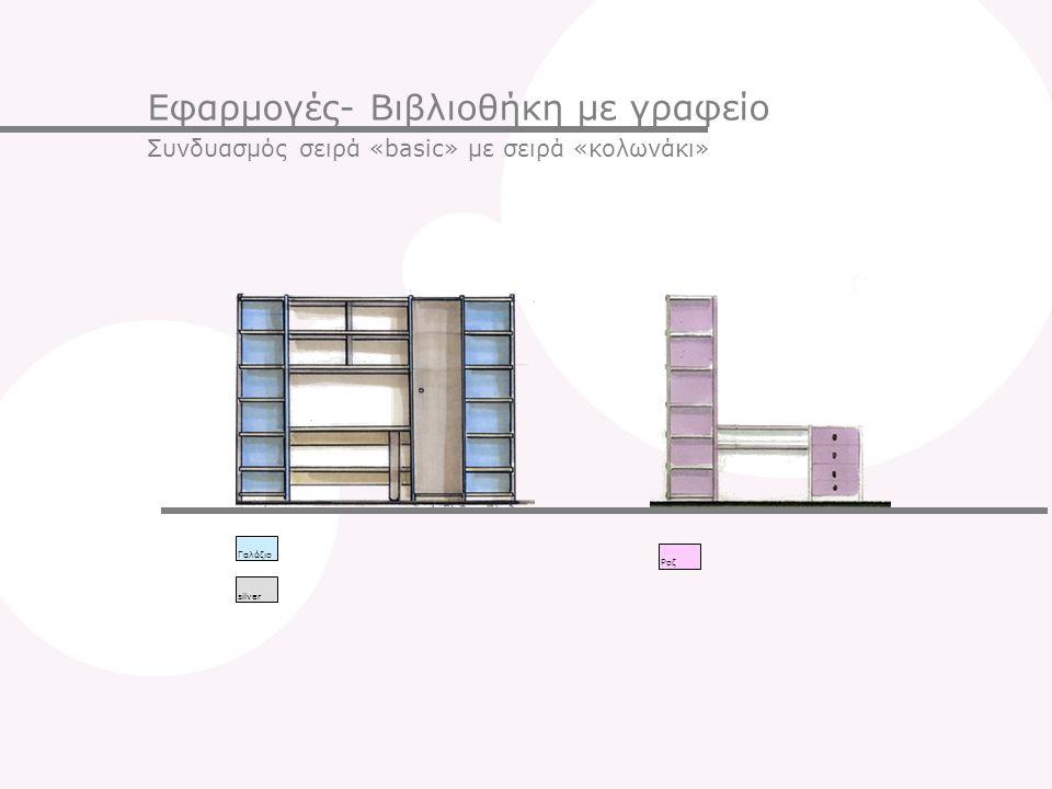 Εφαρμογές- Βιβλιοθήκη με γραφείο