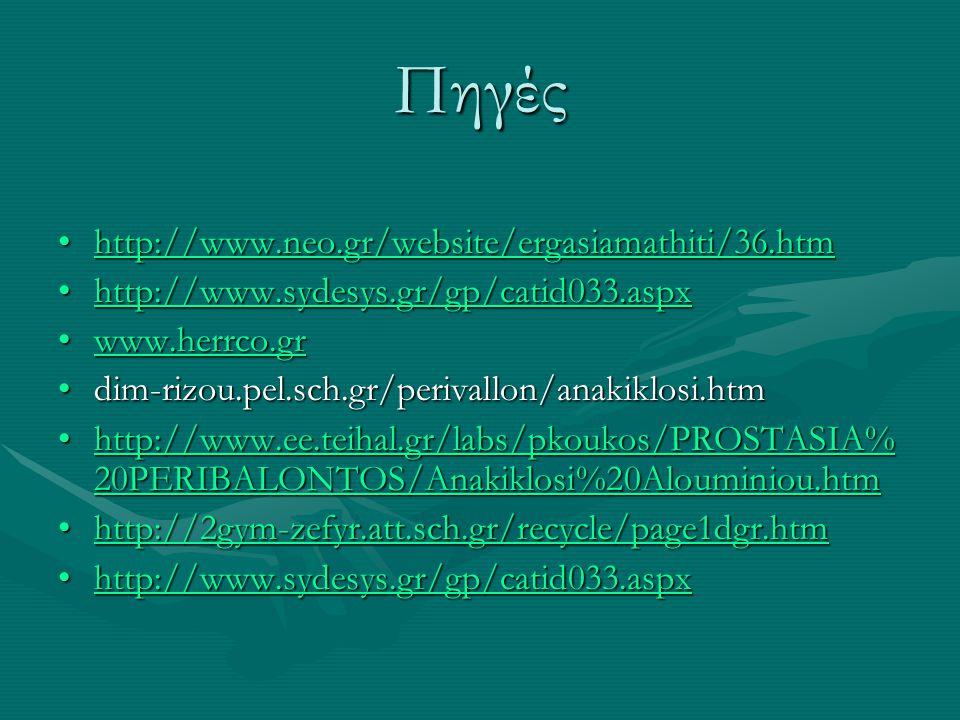 Πηγές http://www.neo.gr/website/ergasiamathiti/36.htm