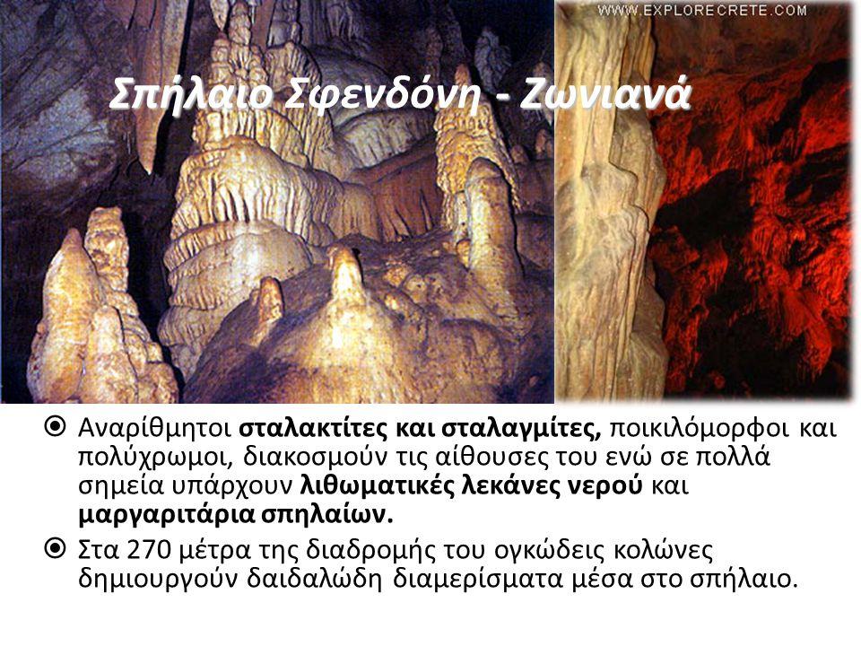 Σπήλαιο Σφενδόνη - Ζωνιανά