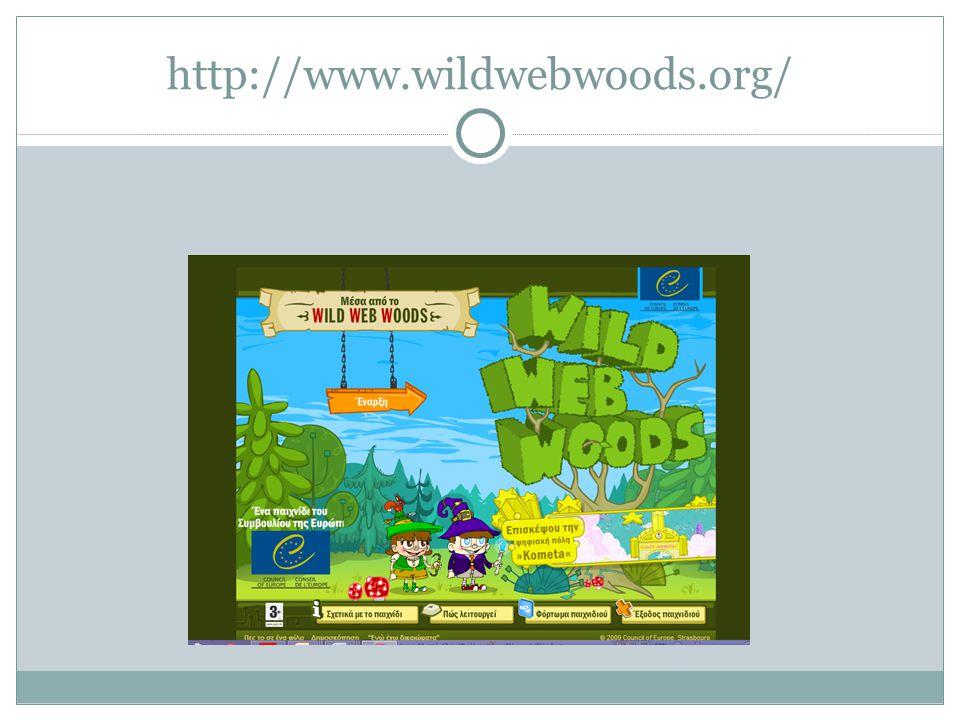 http://www.wildwebwoods.org/