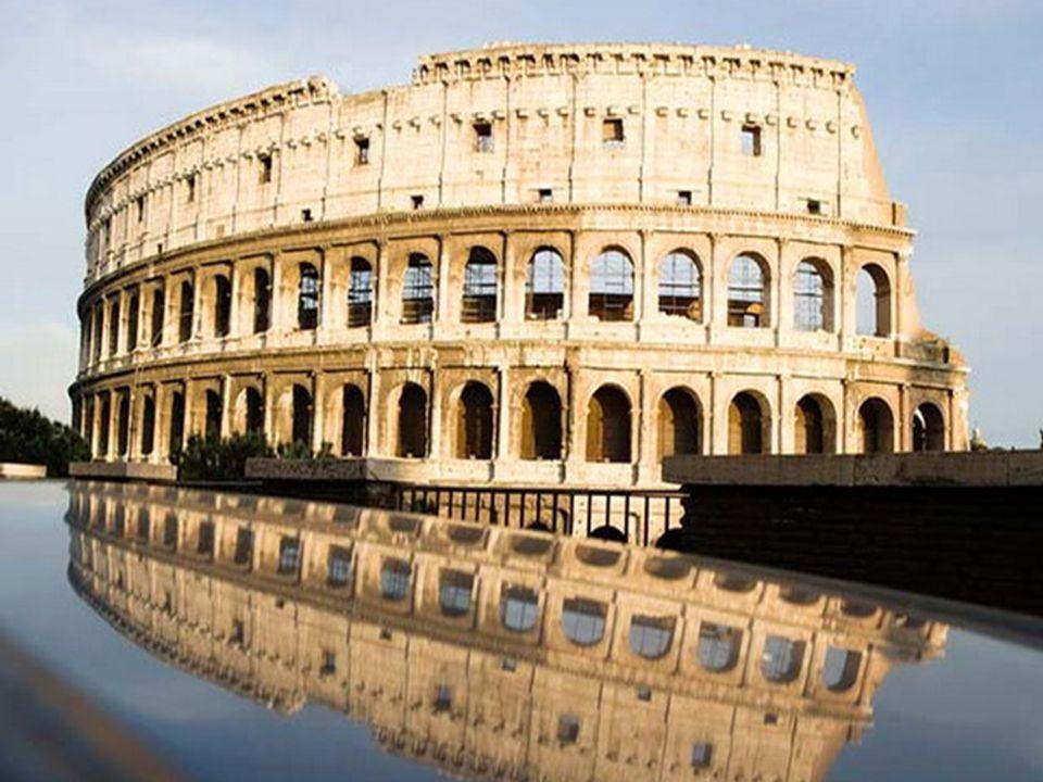 Αρχαίο αμφιθέατρο στη Ρώμη, όπου γίνονταν μονομαχίες.