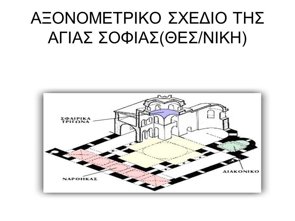 ΑΞΟΝΟΜΕΤΡΙΚΟ ΣΧΕΔΙΟ ΤΗΣ ΑΓΙΑΣ ΣΟΦΙΑΣ(ΘΕΣ/ΝΙΚΗ)