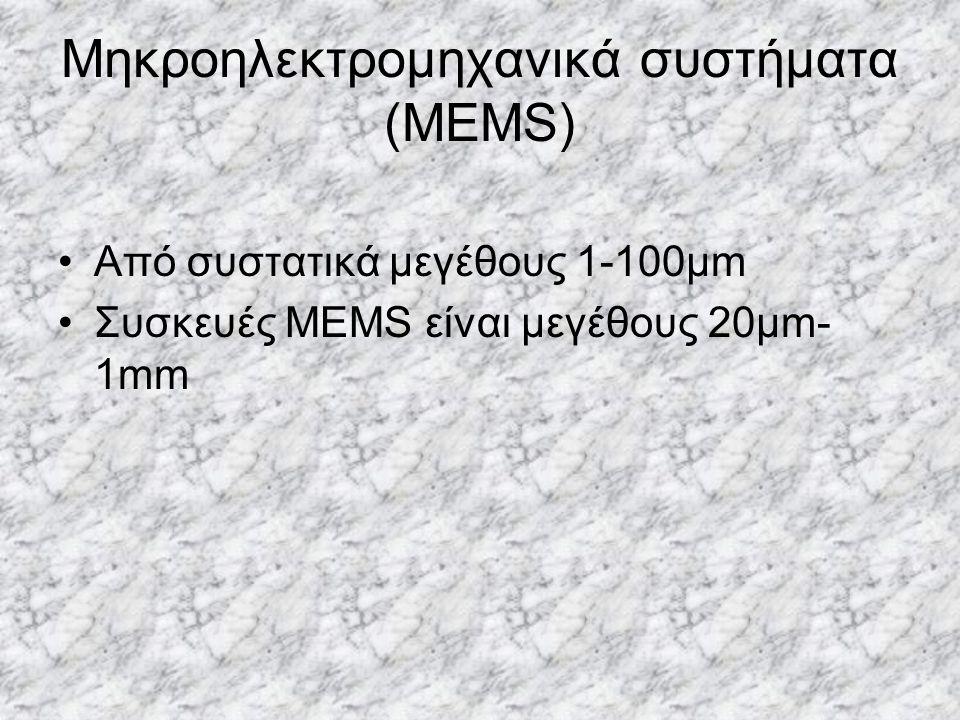 Μηκροηλεκτρομηχανικά συστήματα (MEMS)