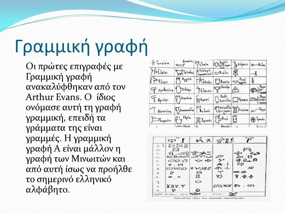 Γραμμική γραφή