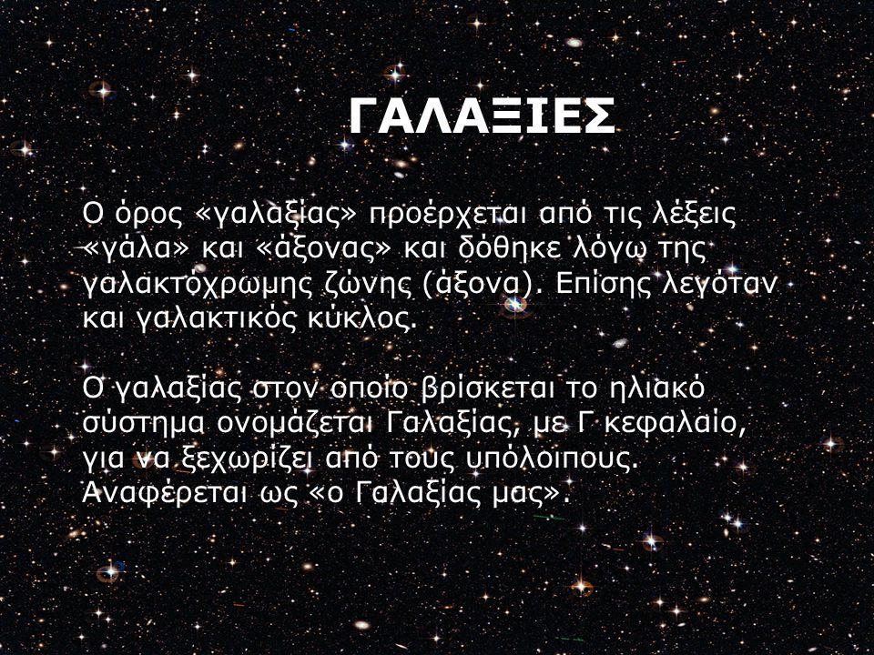ΓΑΛΑΞΙΕΣ