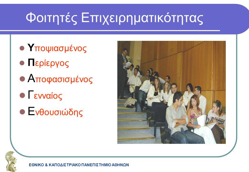 Φοιτητές Επιχειρηματικότητας