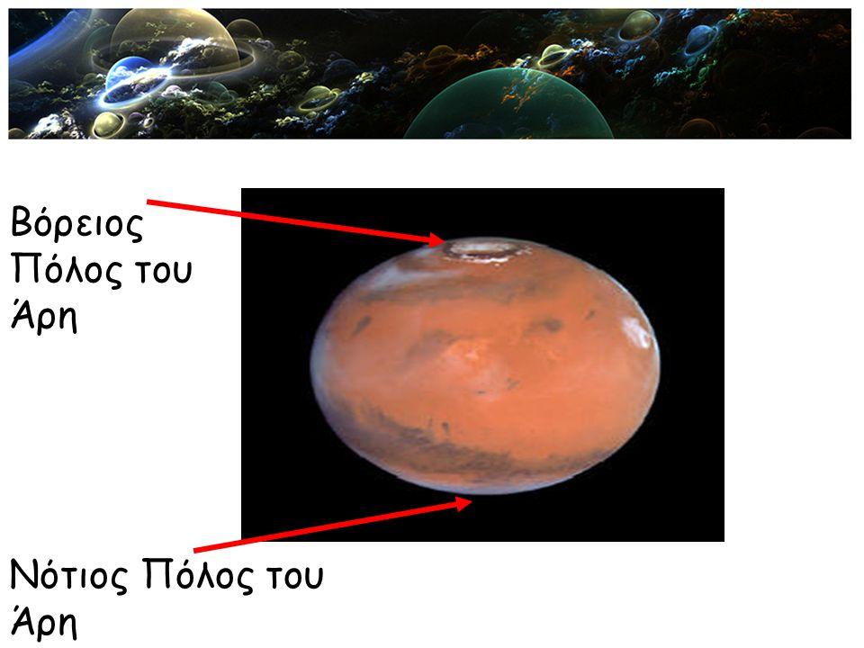 Βόρειος Πόλος του Άρη Νότιος Πόλος του Άρη