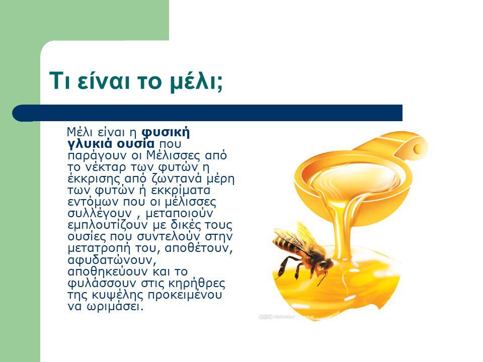 Τι είναι το μέλι;