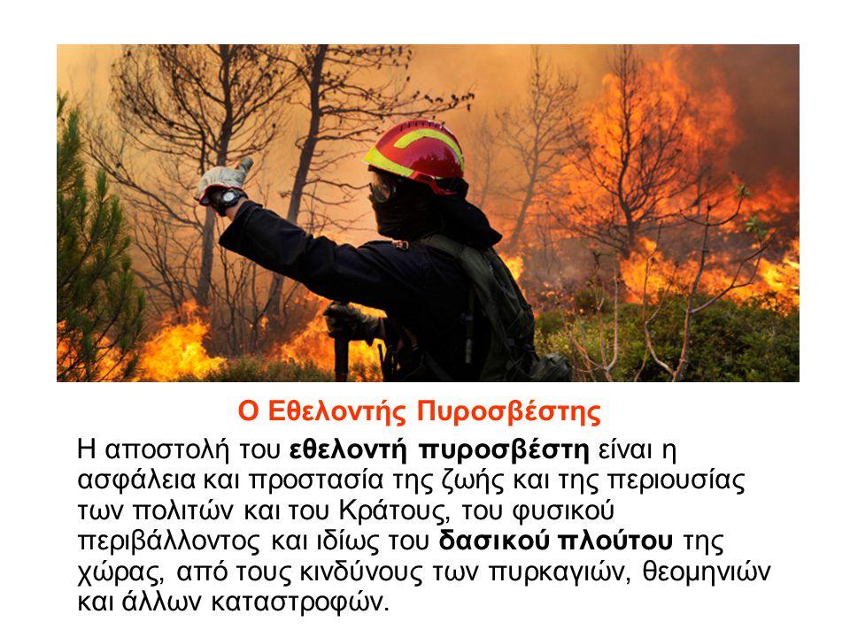 Ο Εθελοντής Πυροσβέστης