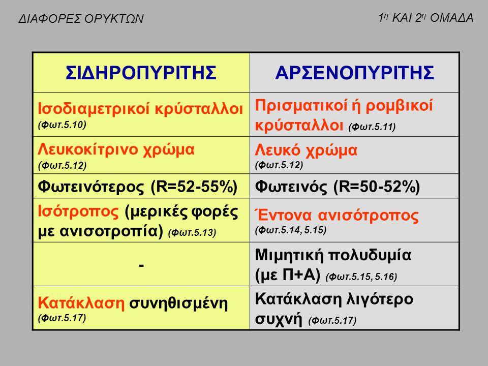ΣΙΔΗΡΟΠΥΡΙΤΗΣ ΑΡΣΕΝΟΠΥΡΙΤΗΣ