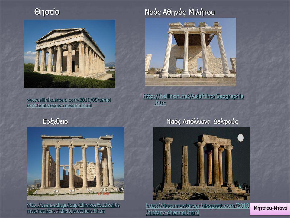 Θησείο Ναός Αθηνάς Μιλήτου