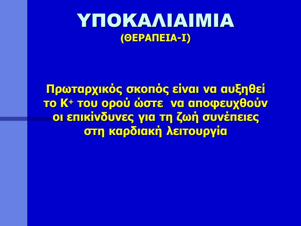 ΥΠΟΚΑΛΙΑΙΜΙΑ (ΘΕΡΑΠΕΙΑ-I)