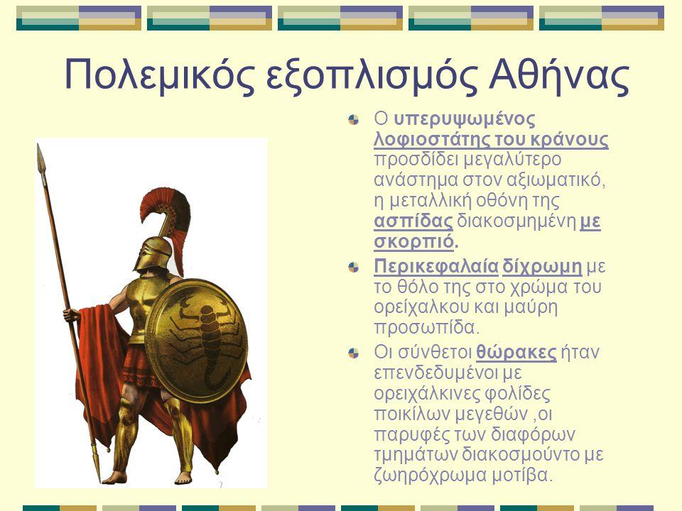 Πολεμικός εξοπλισμός Αθήνας