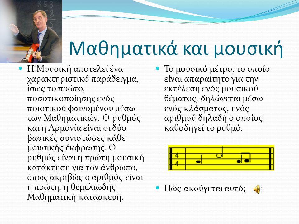 Μαθηματικά και μουσική