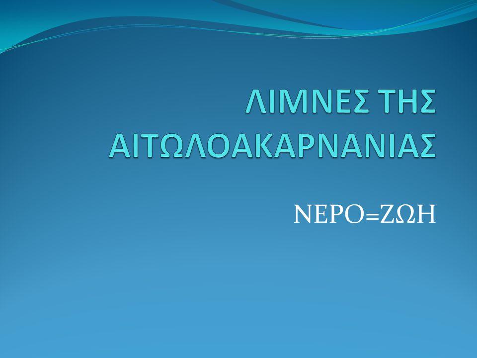 ΛΙΜΝΕΣ ΤΗΣ ΑΙΤΩΛΟΑΚΑΡΝΑΝΙΑΣ