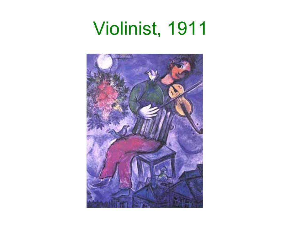 Violinist, 1911
