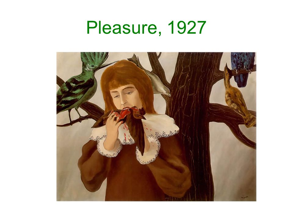 Pleasure, 1927