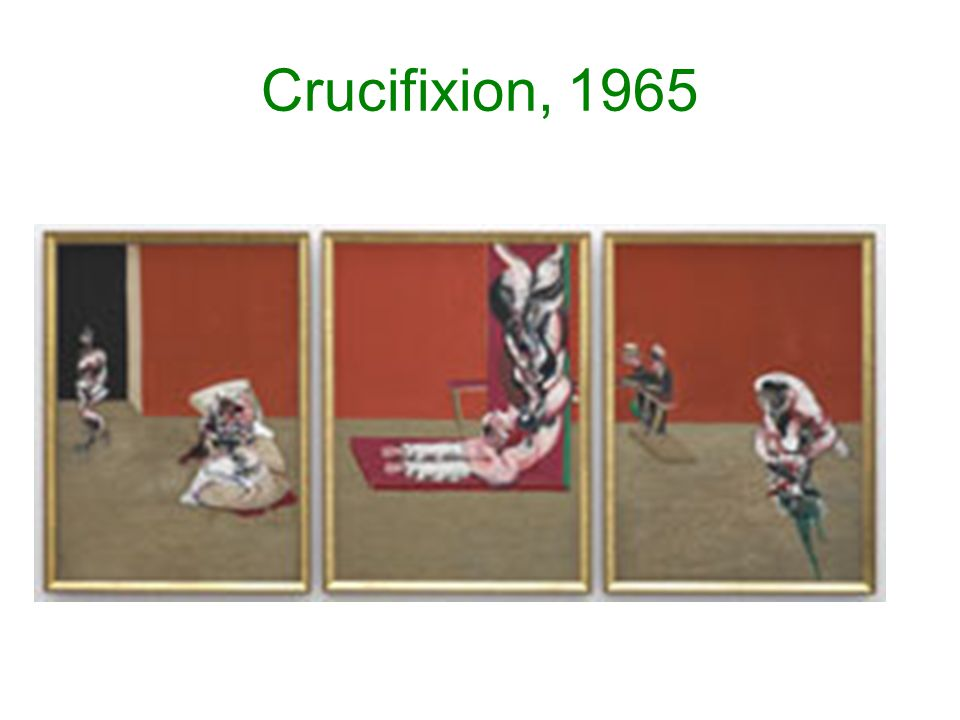 Crucifixion, 1965
