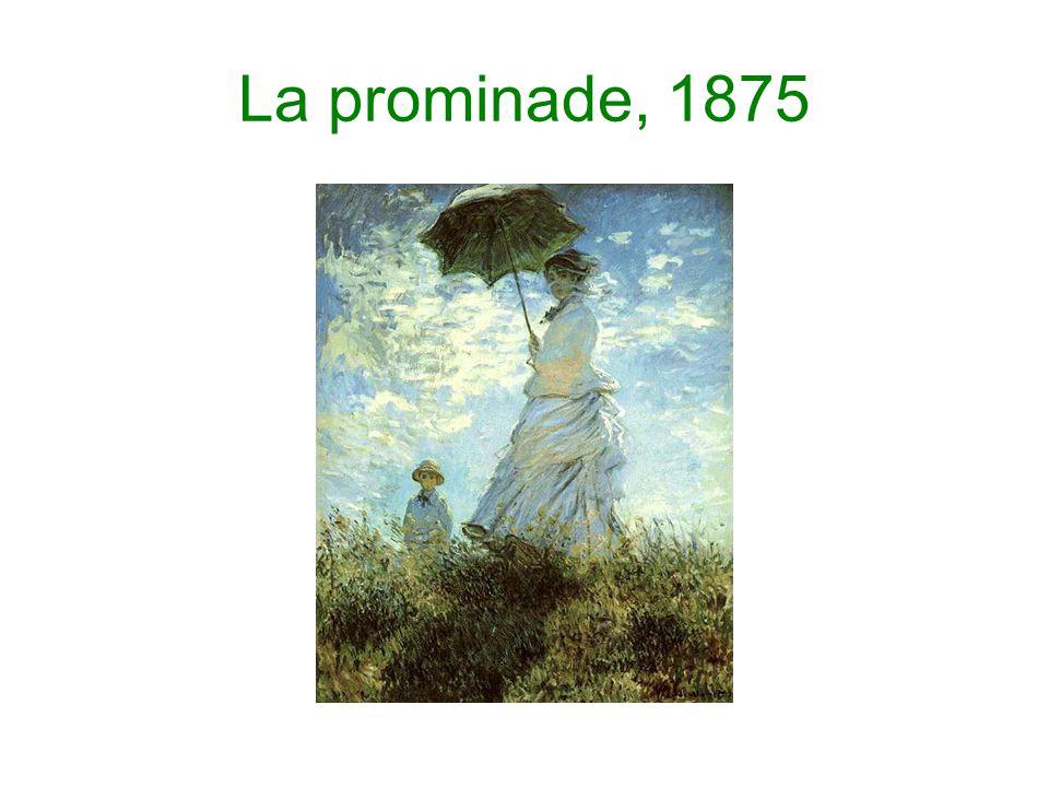 La prominade, 1875