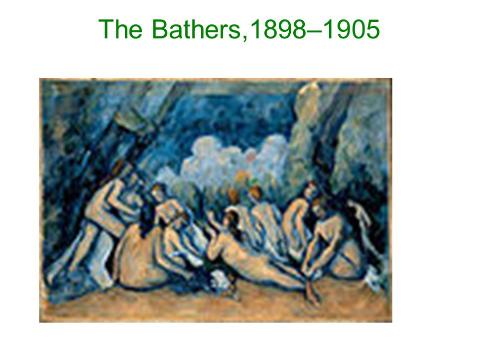 The Bathers,1898–1905