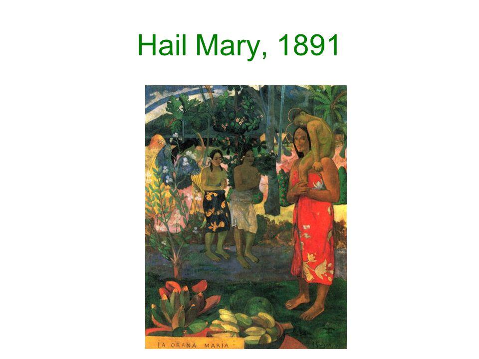 Hail Mary, 1891
