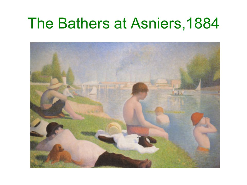 The Bathers at Asniers,1884