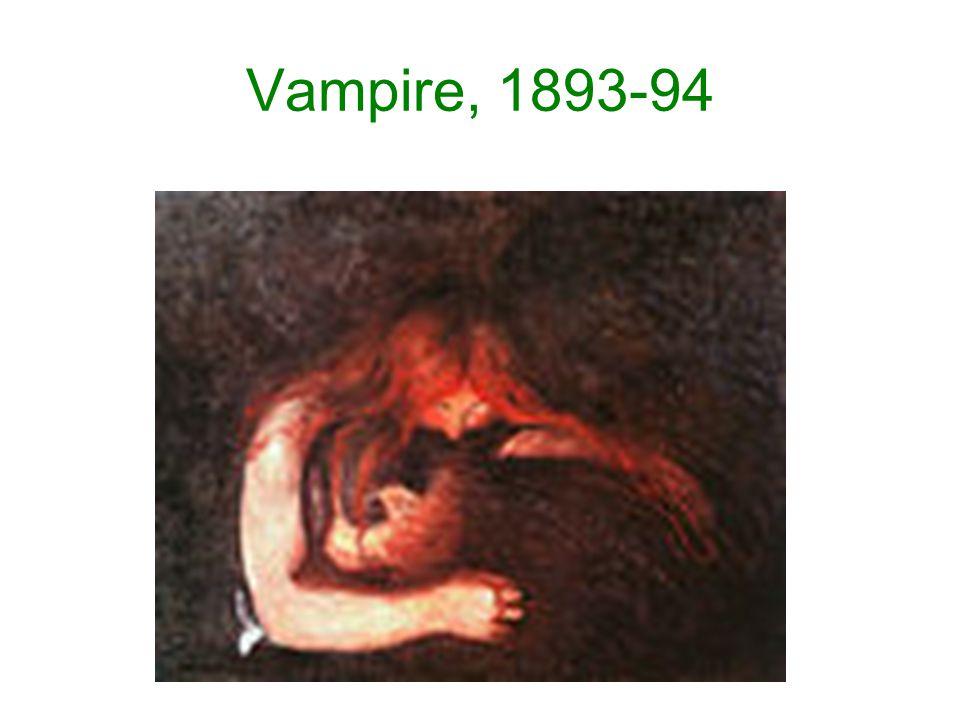 Vampire, 1893-94