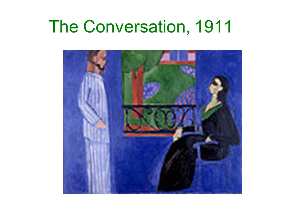 The Conversation, 1911